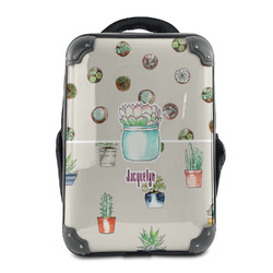 Cactus Hard Shell Backpack (Personalized)