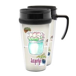 Cactus Acrylic Travel Mugs (Personalized)