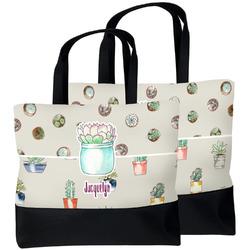 Cactus Beach Tote Bag (Personalized)