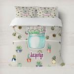 Cactus Duvet Cover (Personalized)