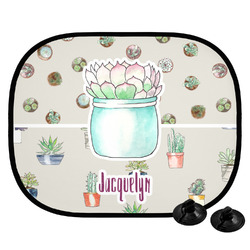 Cactus Car Side Window Sun Shade (Personalized)