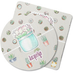 Cactus Rubber Backed Coaster (Personalized)
