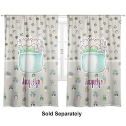 "Cactus Curtains - 20""x54"" Panels - Lined (2 Panels Per Set) (Personalized)"