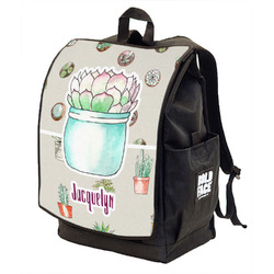 Cactus Backpack w/ Front Flap  (Personalized)