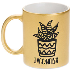 Cactus Gold Mug
