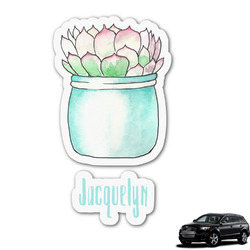 Cactus Graphic Car Decal (Personalized)