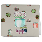 Cactus Kitchen Towel - Full Print (Personalized)
