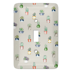 Cactus Light Switch Covers (Personalized)