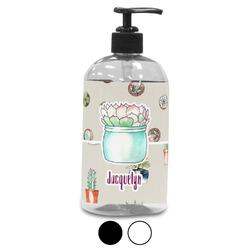 Cactus Plastic Soap / Lotion Dispenser (Personalized)