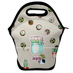 Cactus Lunch Bag w/ Name or Text