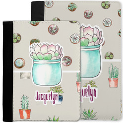 Cactus Notebook Padfolio w/ Name or Text