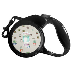 Cactus Retractable Dog Leash - Multiple Sizes (Personalized)