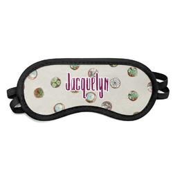 Cactus Sleeping Eye Mask (Personalized)