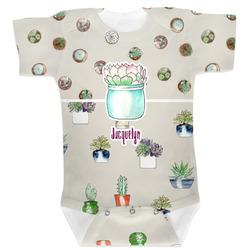 Cactus Baby Bodysuit 6-12 (Personalized)