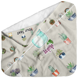 Cactus Baby Hooded Towel (Personalized)