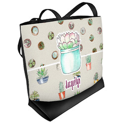 Cactus Beach Tote Bag (Personalized)