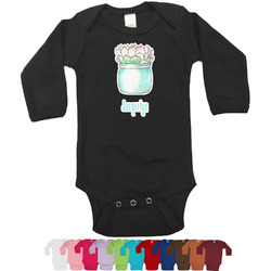 Cactus Bodysuit - Black (Personalized)