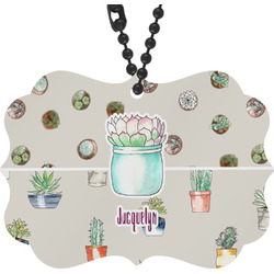 Cactus Rear View Mirror Charm (Personalized)