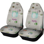 Cactus Car Seat Covers (Set of Two) (Personalized)