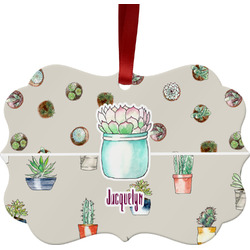 Cactus Ornament (Personalized)