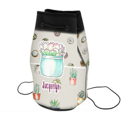 Cactus Neoprene Drawstring Backpack (Personalized)