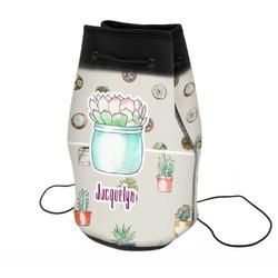 Cactus Neoprene Drawstring Backpack (Personalized)