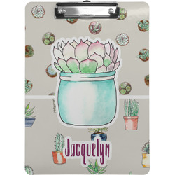 Cactus Clipboard (Personalized)