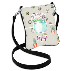Cactus Cross Body Bag - 2 Sizes (Personalized)