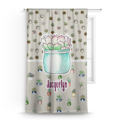 Cactus Curtain (Personalized)