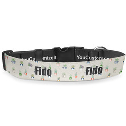 Cactus Deluxe Dog Collar (Personalized)