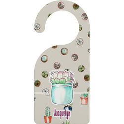 Cactus Door Hanger (Personalized)