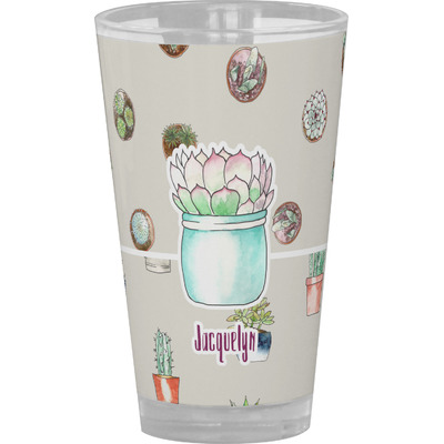 Cactus Drinking / Pint Glass (Personalized)