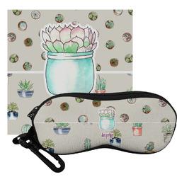 Cactus Eyeglass Case & Cloth (Personalized)