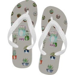 Cactus Flip Flops - XSmall (Personalized)