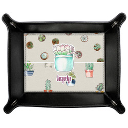 Cactus Genuine Leather Valet Tray (Personalized)