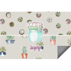 Cactus Indoor / Outdoor Rug - 3'x5' (Personalized)