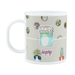 Cactus Plastic Kids Mug (Personalized)