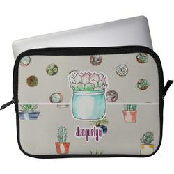 "Cactus Laptop Sleeve / Case - 15"" (Personalized)"