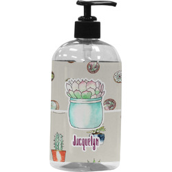 Cactus Plastic Soap / Lotion Dispenser (Personalized)