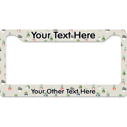 Cactus License Plate Frame (Personalized)