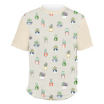 Cactus Men's Crew T-Shirt (Personalized)