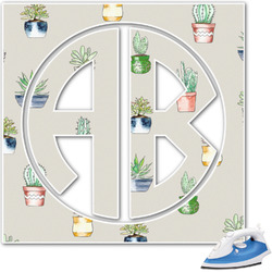 Cactus Monogram Iron On Transfer (Personalized)