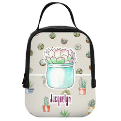 Cactus Neoprene Lunch Tote (Personalized)