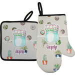 Cactus Oven Mitt & Pot Holder (Personalized)