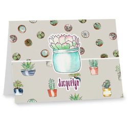 Cactus Note cards (Personalized)