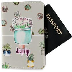 Cactus Passport Holder - Fabric (Personalized)