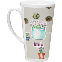 Cactus Latte Mug (Personalized)
