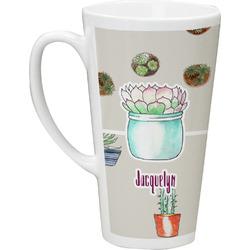 Cactus Latte Mug (Personalized)