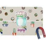 Cactus Rectangular Fridge Magnet (Personalized)