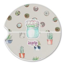 Cactus Sandstone Car Coasters (Personalized)